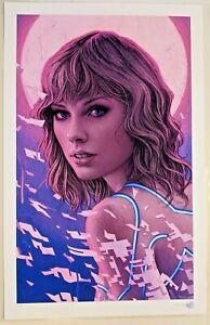 """Neonology"" Taylor Swift (2018) Rory Kurtz Giclee Limited Edition Print x/70"