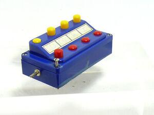 Märklin 7210 Control Desk Blue 1 Piece