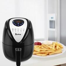 ZOKOP 3.5L Mechanical 1500W Power Air Fryer Temperature Kitchen Appliance Black