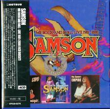 SAMSON-MR ROCK AND ROLL - LIVE 1981-2000-IMPORT 4 CD WITH JAPAN OBI L08