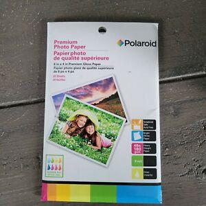 Polaroid Premium Photo (6x4in) Glass Paper- Brand New