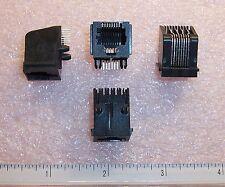 QTY (80) 5520251-4 TYCO RJ-45 R/A  8P8C MODULAR JACK ROHS