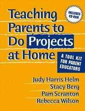 Teaching Parents To Do Projects At Home: A Tool Kit For Parent Educato-ExLibrary