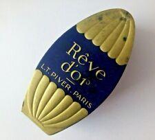 Boite flacon parfum LT Piver Paris Rêve d'or boite seule