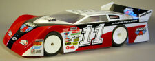 "Standard 1/10 Clear RC car body BAKERSFIELD Late Model Dirt Oval 10"" w  ...#237"