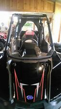 """Polaris RZR RS1 Clear Full Front Windshield - A FULL 1/4"""" THICK!!"""