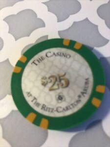$25 RITZ CARLTON Casino Aruba Gambling Poker
