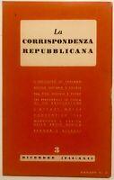 "RSI ""LA CORRISPONDENZA REPUBBLICANA"" N° 3 Libro 1944 XXII° Rep. Soc. Italiana"