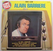 ALAIN BARRIERE (2LP 33T) SUPER STARS TELE - COMPILATION 24 TITRES
