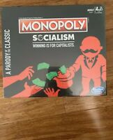 Hasbro Monopoly Socialism Parody Board Game Limited Edition