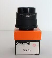 Novoflex duplicatore di focale TELEEXTENDER 2X