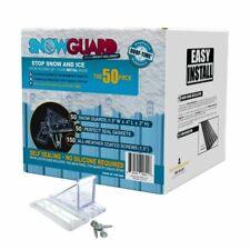 50 MINI Snow Guard Stop Ice Buildup Seal Gasket Metal Roof Mounting Screws