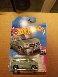 Hot Wheels #50 Dodge Van 50/250 New Free Shipping