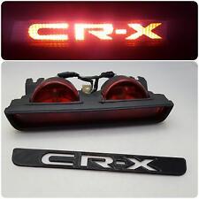 "88-91 Honda CR-X Edition 3rd Brake Light ""CRX"" JDM / EDM / UKDM Logo Overlay"