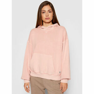 Reebok Classics Natural Dye Fleece Hoodie Women's Frost Berry Sweatshirt Hoody