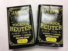 M&L REUTER BAR SOAP 3.3 OZ. SET OF 2 WITH FREE SHIPPING IN THE U.S.!