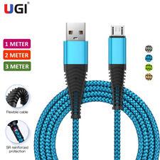 Высокопрочная Micro Usb тип C зарядки данных кабель для зарядного устройства iPhone свинец 1 м 2 м 3 м