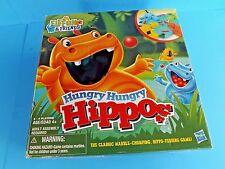 """HUNGRY HUNGRY HIPPOS"",2012, MILTON BRADLEY/HASBRO,100% COMP. ENGLISH & SPANISH"