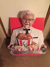 "3D Paper Kentucky Fried Chicken KFC Colonel Sanders Advertising 32""X 30"""