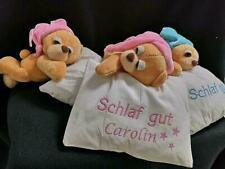 Schnarchender Bär personalisiert mit Namen ( Plüschtier, Kuscheltier)