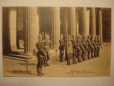 Alte Original Foto AK PK ca. 1910: Berlin-Berliner Typen Ablösung der Wache II