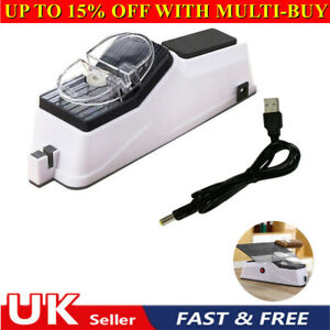 UK Electric Knife Sharpener Professional Kitchen Sharpening Stone Grinder Knives