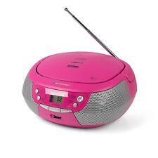 BLAUPUNKT Boombox B4 PLL CD Player mit UKW Radio USB AUX MP3 Stereo Lautsprecher