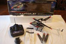 Raptor Jet w/ Gyro 3.5 Channel RC Helicopter Protocol RaptorJet 49 MHz Remote