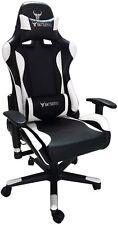 BattleBull Combat Gaming Chair Black/White[BB-620960]