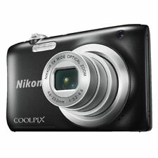Nikon Coolpix Digital Camera Black A100