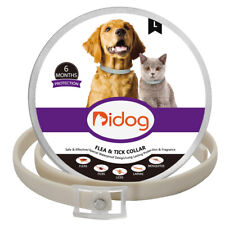 Flea and Tick Collar for Small Large Dogs Pet Prevent Insect 6 Months Waterproof
