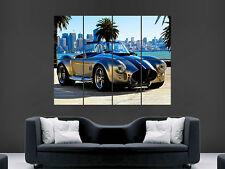 Shelby ac cobra Voiture Classique Art Mur Photo Poster géant énorme!