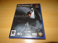 PS2 Constantine  UK Pal,  New & Sony Factory Sealed