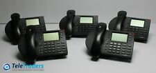 LOT OF 5 Shoretel 230 IP VoIP Phone Model SEV 00104909EB12 Black IP230