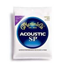 Martin MSP3050 SP 80/20 cuerdas guitarra acústica de bronce luz personalizado 11-52