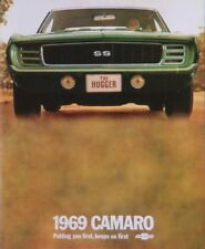 CAMARO 1969 Sales Brochure 69