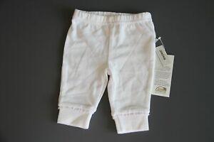 Jacky Baby-Leggins Hose, Mädchen Gr.56 weiß