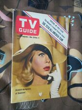 TV Guide 1964 Bewitched Elizabeth Montgomery + Sandra Gould's Autograph EX-NM