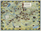 Pictorial+Map+Concord+Massachusetts+Family+History+Wall+Art+Print+Poster+11%22x14%22