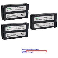 Kastar Replacement Battery Pack for Panasonic AG-EZ30P AG-EZ30U NV-DE3 NV-DJ1