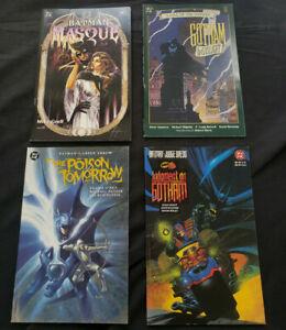 BATMAN 4PC (VF) GRAPHIC NOVELS, GOTHAM BY GASLIGHT, BATMAN: MASQUE 1989-97