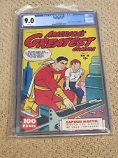 Flashback 32 CGC 9.0 White Pages (Reprints America's Greatest Comics #7- Shazam)