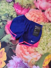 Nwt NIKE Little Girls Athletic Shorts NEW Size 5 Dri-Fit