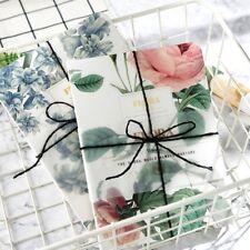 """Flora"" 1pc Beautiful Sketchbook Flower Journal Blank Freenote Diary Notebook"
