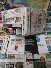 Nintendo DS:Final Fantasy Crystal Chronicles - Ring of Fates [TOP RPG] Fr