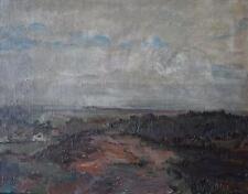 Expansive Landscape Across Moorland Oil Painting WT Mycock 1948 British School