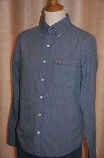 Hollister Men's Check Regular Collared Casual Shirts & Tops