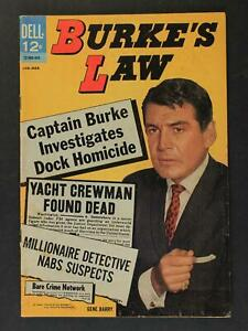 1964 BURKE'S LAW COMIC # 1 (FN-)