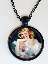 cg2753 Collar - Retro 1950's PIN-UP niña