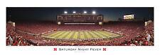 Rare Nebraska Huskers Football Stadium SATURDAY NIGHT FEVER Premium POSTER Print